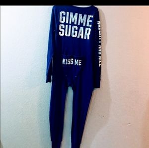V.S. Pink Intimates & Sleepwear - RARE V.S. PINK Gimme Sugar onesie